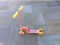 Pink 'my first scooter' in good condition