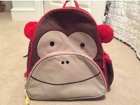 Skip Hop Monkey Bag