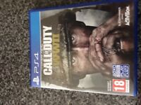 Call of Duty ww2 PS4 game played once