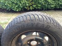 Goog Year winter tyres - 15 inch.