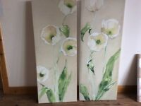 Next hand painted canvasses