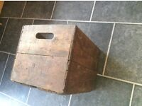 Vintage wooden crate great for display