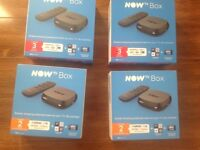 Brand New Now TV Boxes with Passes - £10 each
