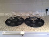 12 Red Wine Glasses