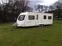 Avondale Argente 650/6 touring caravan