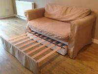 2 Seater Double Sofa Bed Delivered