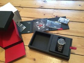 Oris Williams F1 Team Day Date Black Face Watch