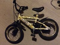 BOYS RALEIGH BIKE FREE TO COLLECT