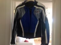 Ladies size L leather Motorbike Jacket & Trousers