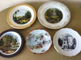 Bundles of ornamental wall plates all gc