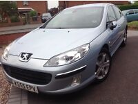 Peugeot 407 X.Line nice condition tax / mot we have owned for 6 yrs full service history