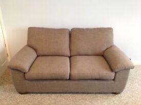 3 month old John Lewis grey Camden Medium 2 Seater Sofa