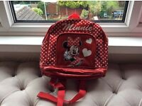GIRL'S DISNEY MINNIE MOUSE BACKPACK