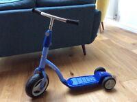 Blue Kettler Scooter