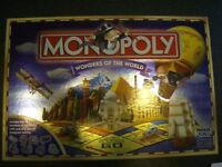 wonders of the world monopoly