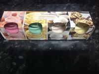 Essence 4 pack of candles new in box bakery selection