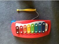 LITTLE TIKES tap a tune xylophone in excellent, as new condition.