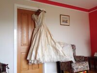 Couture London Gold Wedding dress