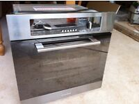 Baumatic Integrated electric oven. Used but fully functional