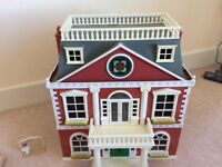 Sylvanian family hotel and furniture