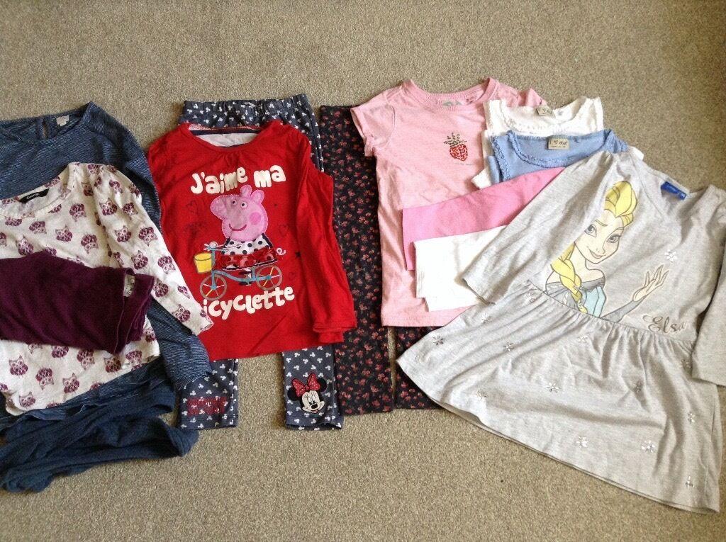 Girls Clothes Age 4-5 (inc Frozen, Peppa Pig, & NEXT) VGC!