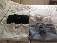 4 X men's size large short sleeve shirts