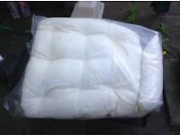 Cushions for egg shaped swinging chair