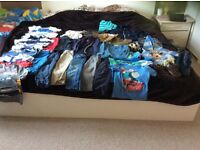 Big bundle of baby boy clothes 12-24 months!!!!