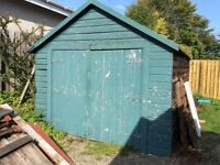 Wooden garage for sale. Only £400 Inverness area.