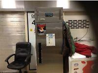 Commercial fridge,stainless steel,£450.00