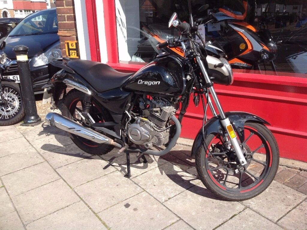 Lexmoto Oregon 125cc includes 12 months warranty and free anual sercice