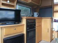 Fixed Bed 4 Berth Touring Caravan 2006 Elddis Crusader Super Sirroco