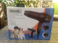 WAHL hairdryer and stand for pet grooming