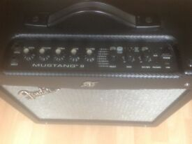 Fender Mustang II guitar amp. Good condition 40 watt modelling amp.