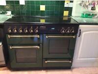 Leasure Rangemaster 110 Gas cooker and Cooker Hood