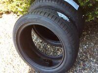 Dunlop sp sport tyresx2 225/45/17