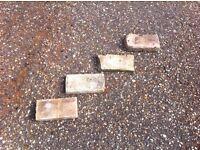 Suffolk Pamments/Floor Bricks - old handmade - reclaimed