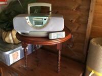 CD Player incorporating radio. Panasonic