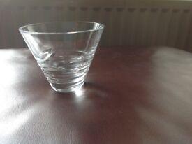 Waterford Crystal modern cut dish