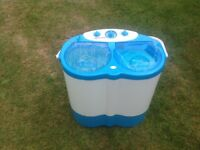 Camping twin tub washing machine