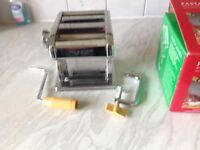 Pasta making machine not used .boxed as new received as present