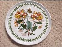 Portmerion Botanical Garden Honeysuckle plate