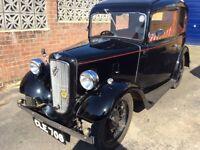 Black 1936 Austin 7 RUBY