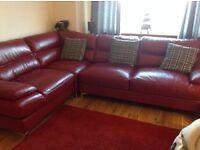 Corner sofa and1 chair