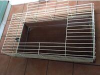 Indoor rabbit cage, good condition.