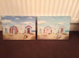 Canvas pictures X 2