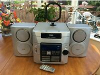 Thomson Hi-if with 5 Disc Changer, Twin Tape Deck & Radio