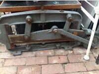 Industrial guillotine rare