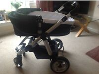 ICandy Apple travel system w/carrycot, forward and rear facing seat plus more