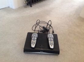 SKY + HD BOX 500GB with 2 remotes